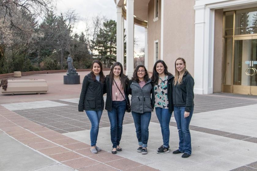 SHSU, LEAP Center, LEAP Ambassadors, Santa Fe NM,  New Mexico Capitol, Roundhouse,  Allan Houser