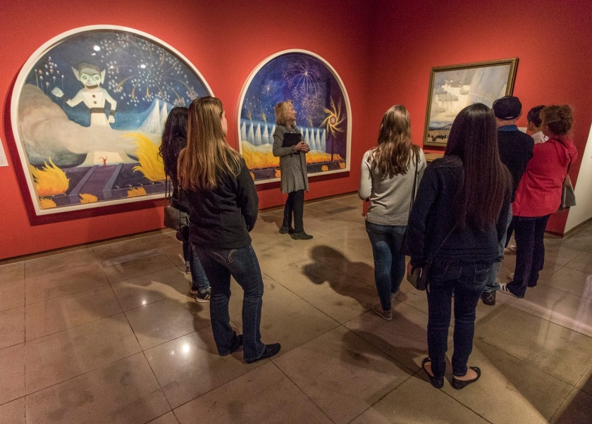 SHSU, LEAP Center, LEAP Ambassadors, Santa Fe NM,  New Mexico Museum of Fine Arts
