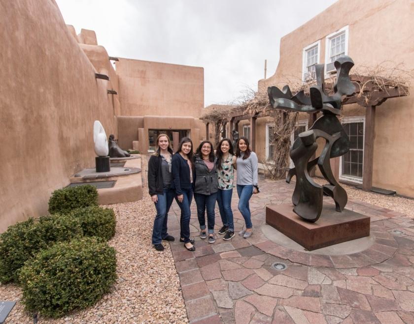 SHSU, LEAP Center, LEAP Ambassadors, Santa Fe NM,  New Mexico Museum of Fine Arts