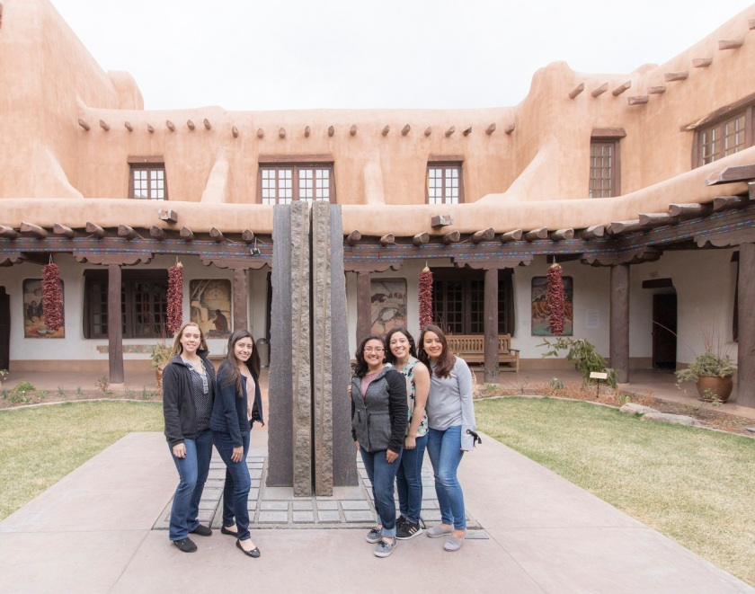SHSU, LEAP Center, LEAP Ambassadors, Santa Fe NM,  New Mexico Museum of Fine Arts, Jesus Moroles
