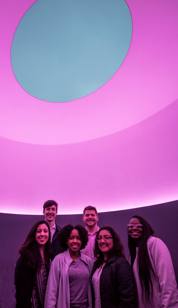 SHSU, LEAP Center, LEAP Ambassadors, James Turrell, Skyspace, UT Austin