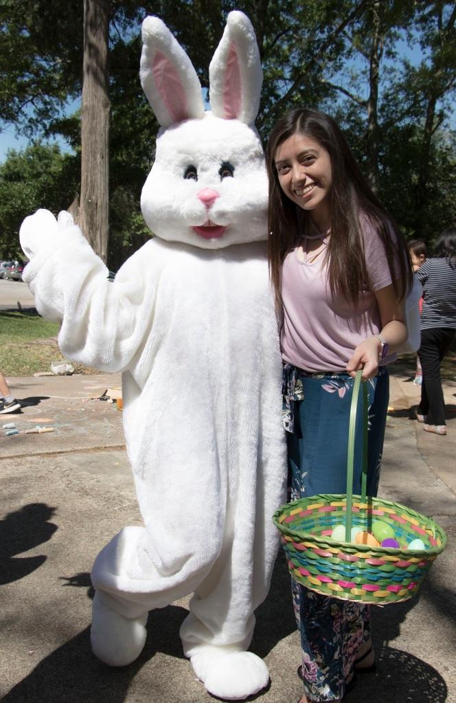 SHSU, LEAP Center, LEAP Ambassadors, Wynne Home, Easter Egg Hunt,