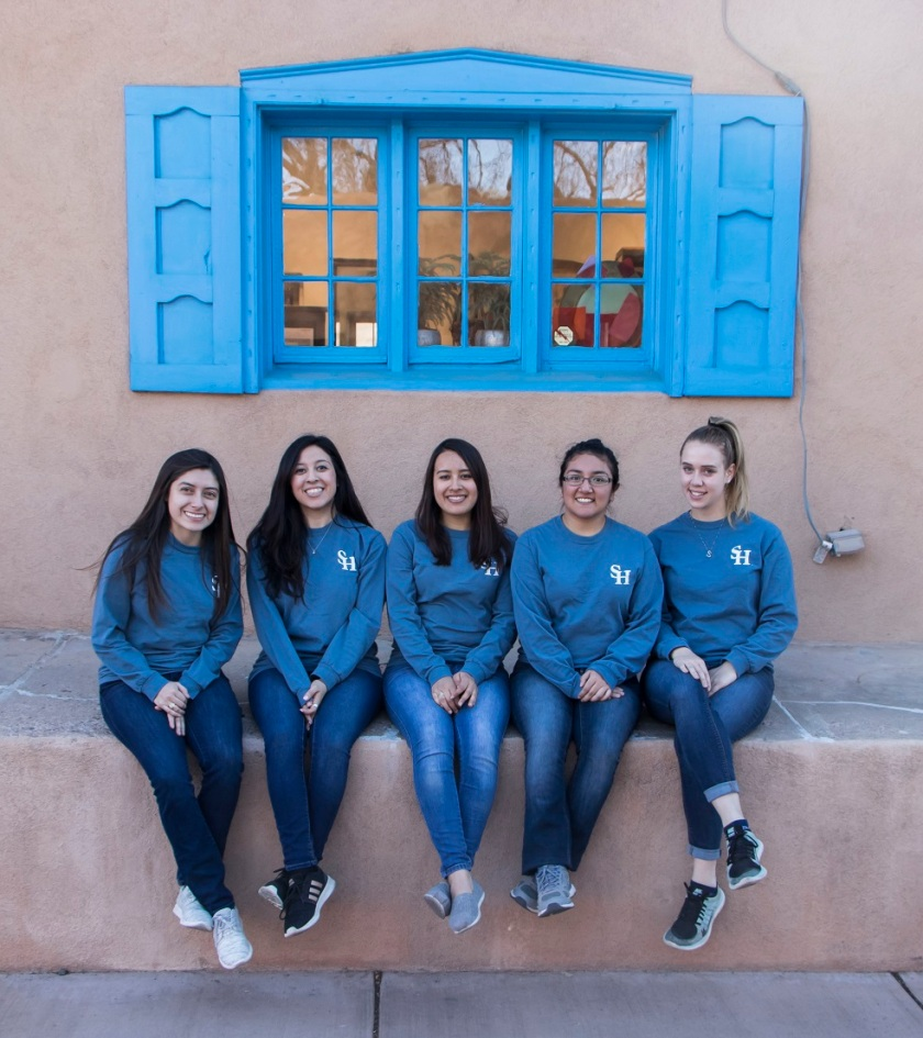 SHSU, LEAP Center, LEAP Ambassadors, Santa Fe, Canyon Road