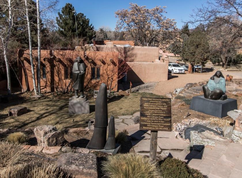 SHSU, LEAP Center, LEAP Ambassadors, Santa Fe, Canyon Road, Allan Houser