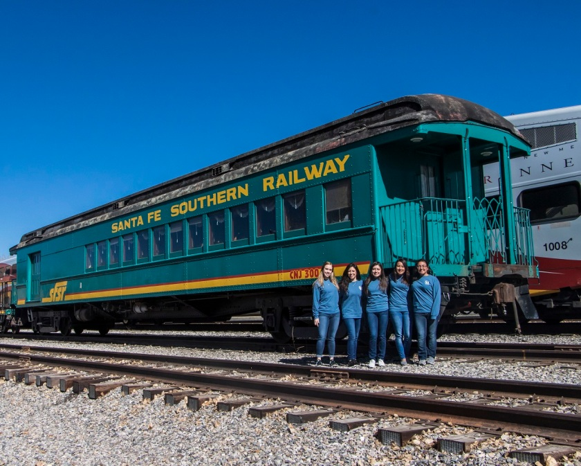 SHSU, LEAP Center, LEAP Ambassadors, Santa Fe, Trains