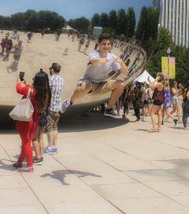 SHSU, LEAP Center, LEAP Ambassadors, Anish Kapoor, Cloud Gate, Chicago