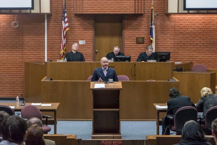SHSU, LEAP Center, LEAP Ambassadors, 10th Court of Appeals, Chief Justice Tom Gray, Justice Al Scoggins, Justice Rex Davis