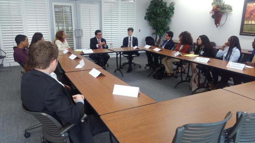 SHSU, LEAP Center, LEAP Ambassadors, Alberto Gonzales, Attorney General, Belmont Law School
