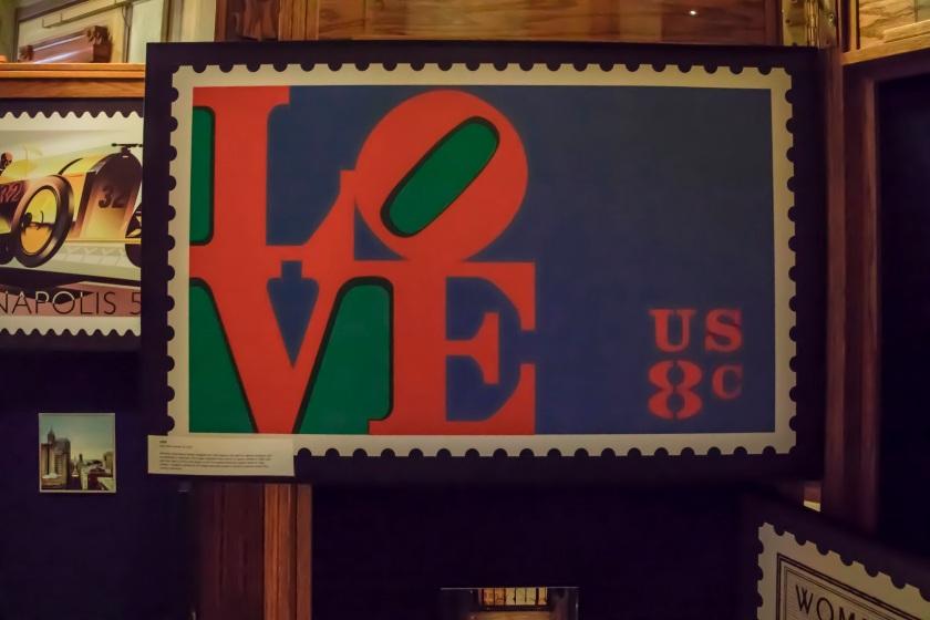 SHSU, LEAP Ambassadors, LEAP Center, Robert Indiana, LOVE, Indiana Capitol