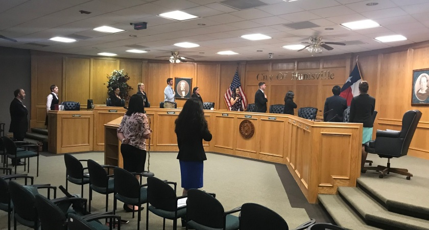 SHSU, LEAP Center, LEAP Ambassadors, Mock City Council, City of Huntsville