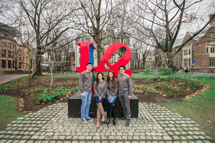 SHSU, LEAP Ambassadors, LEAP Center, Robert Indiana, LOVE, University of Pennsylvania