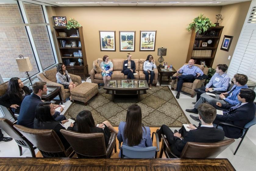 SHSU, LEAP Center, LEAP Ambassadors, Stephen Harrigan, Gates of the Alamo
