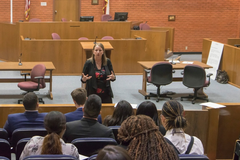 SHSU, LEAP Ambassadors, LEAP Center, Voir Dire, Texas Special Prosecutors Unit, Pre-Law