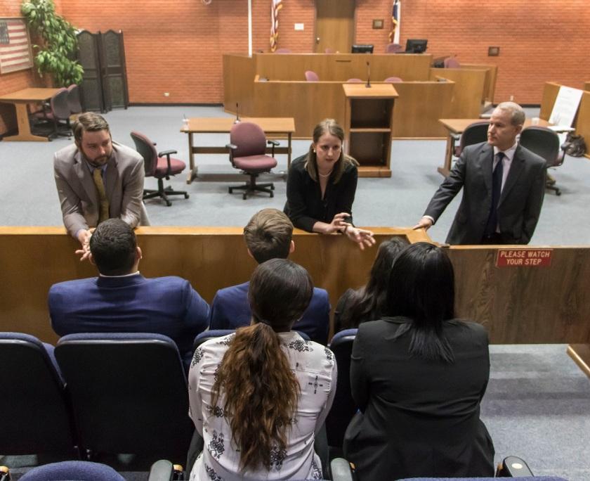 SHSU, LEAP Ambassadors, LEAP Center, Voir Dire, Texas Special Prosecutors Unit, Pre-Law