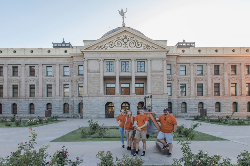 SHSU, LEAP Center, LEAP Ambassadors, Arizona Capitol Building