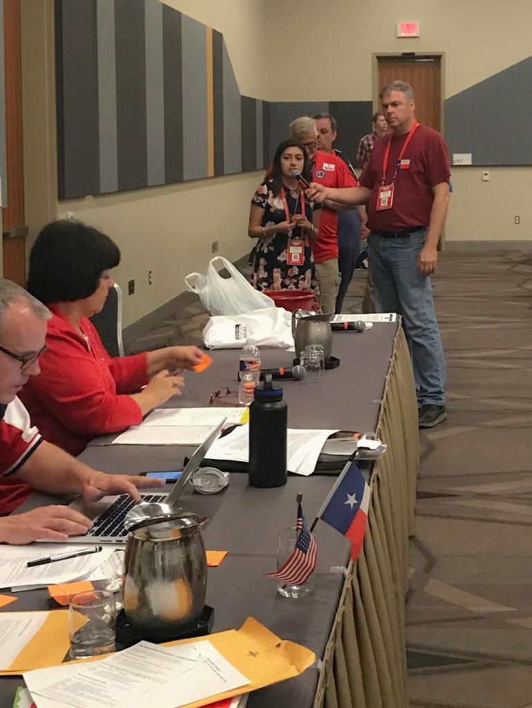 Texas GOP, Texas Republican Convention 2018, Senate District 5, Karla Rosales