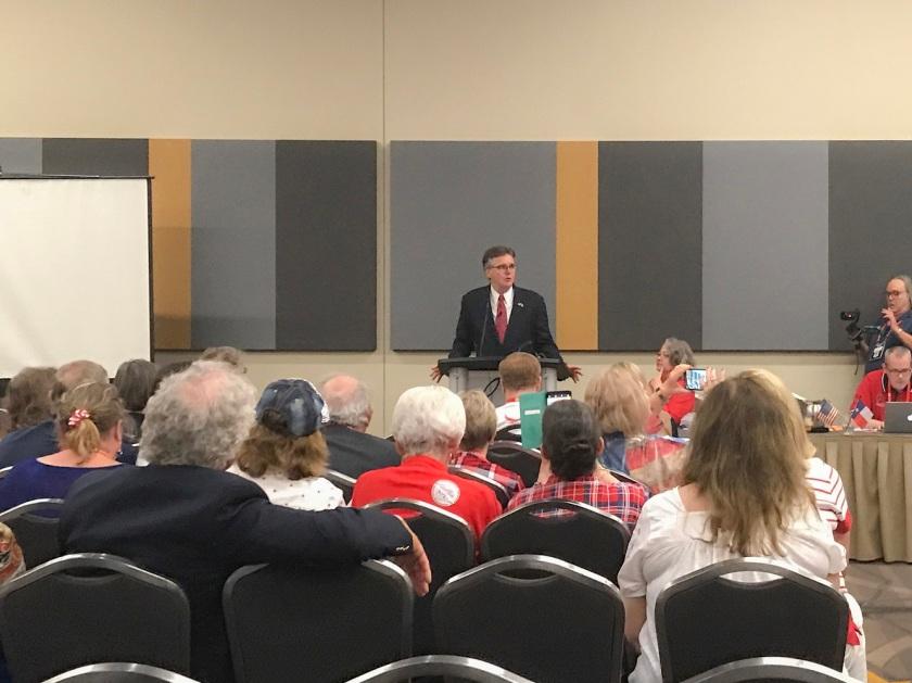TX GOP, Texas Republican Convention 2018, Dan Patrick