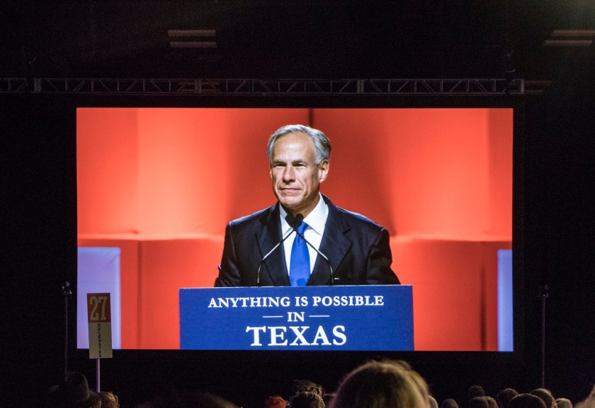 TX GOP, Texas Republican Convention 2018, Governor Greg Abbott