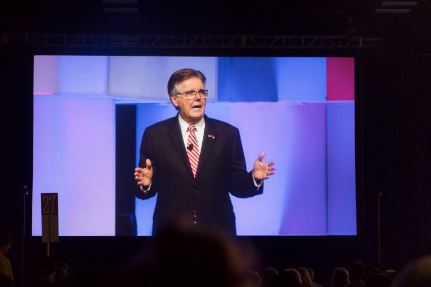 TX GOP, Texas Republican Convention 2018, Lt. Gov. Dan Patrick