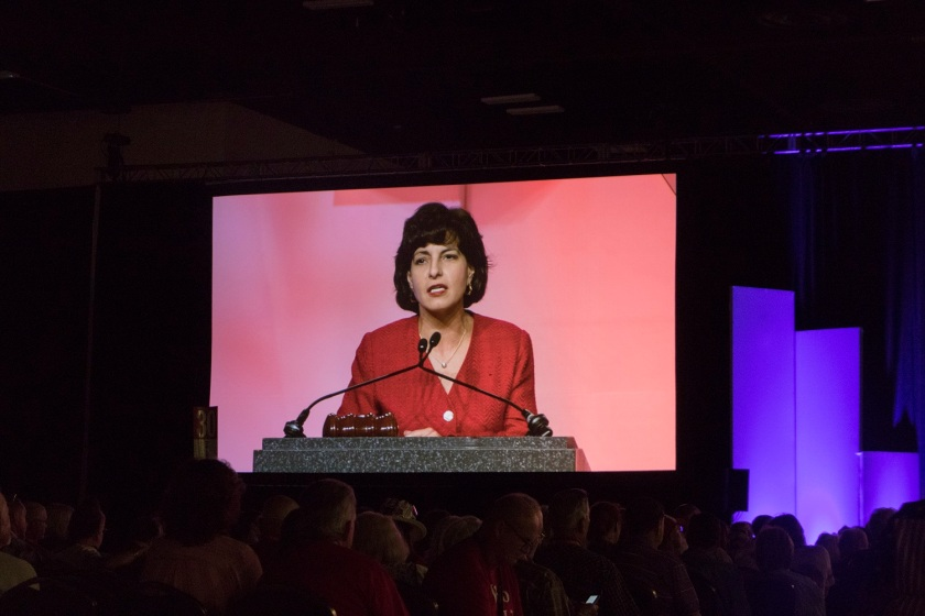 TX GOP, Texas Republican Convention 2018, RR Commissioner Christi Craddick