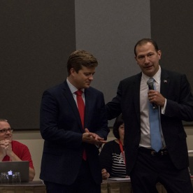 TX GOP, Texas Republican Convention 2018, Texas Senator Charles Scwhertner, Tom Holloway