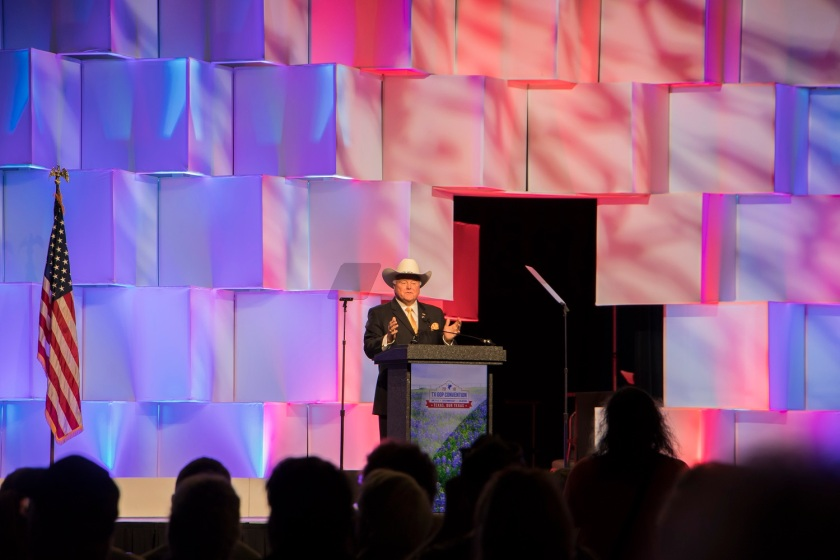 Texas Republican Convention 2018, Agriculture Commissioner Sid Miller