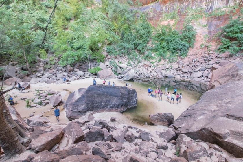 SHSU, LEAP Center, Zion, Emerald Pool Trail