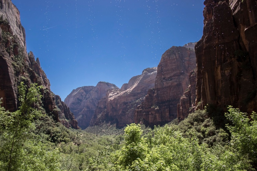SHSU, LEAP Center, Zion, Weeping Wall
