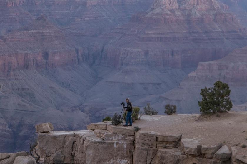 SHSU, LEAP Center, Grand Canyon, Moran Point, Mark Burns
