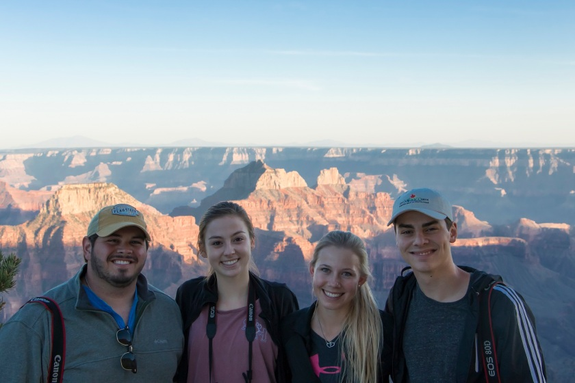 SHSU, LEAP Center, North Rim Grand Canyon, Angel's, Bright Angel Point