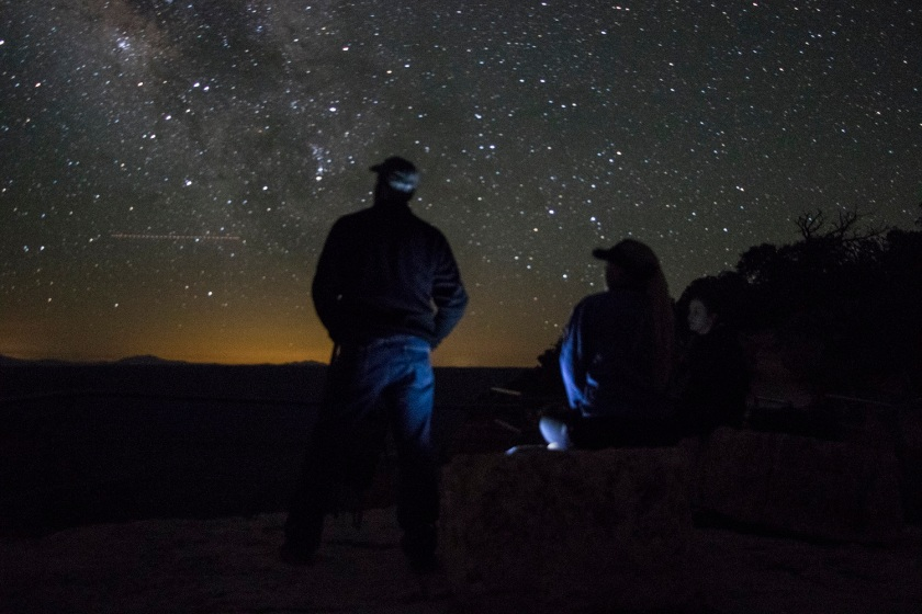 SHSU, LEAP Center, North Rim of the Grand Canyon, Angel's Window, Mark Burns, Milky Way