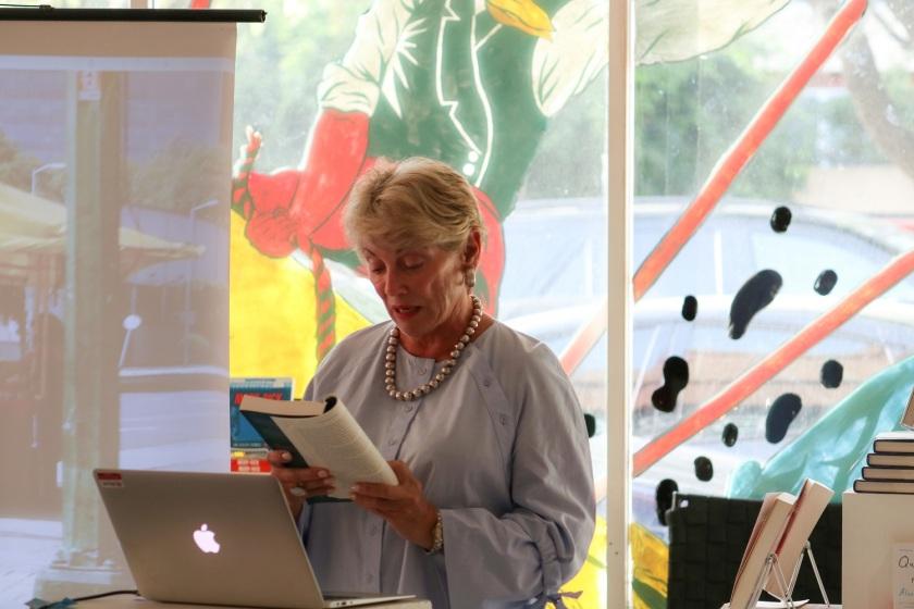 SHSU, LEAP Center, LEAP Ambassadors, Patricia Hunt Holmes, Brazos Bookstore
