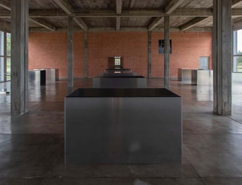 SHSU, LEAP Center, Donald Judd, Minimalist Art, Chinati Foundation, Marfa Texas