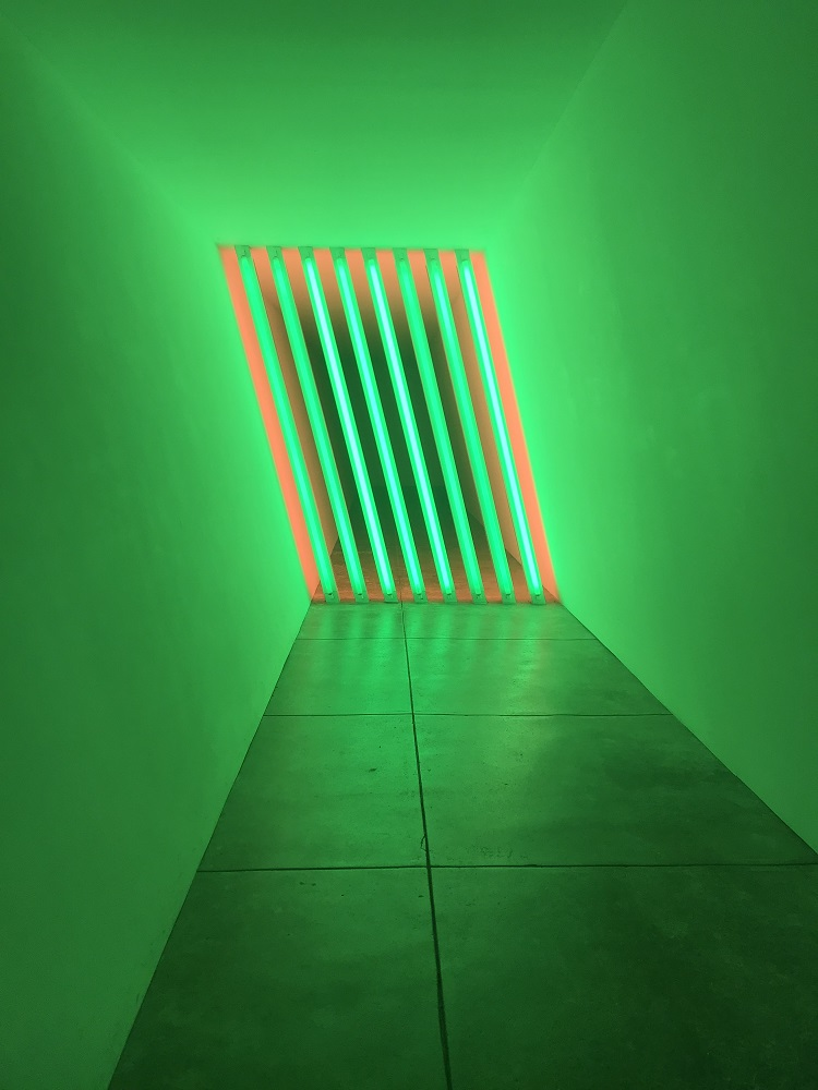 SHSU, LEAP Center, Donald Judd, Chinati Foundation, Marfa Texas, Dan Flavin