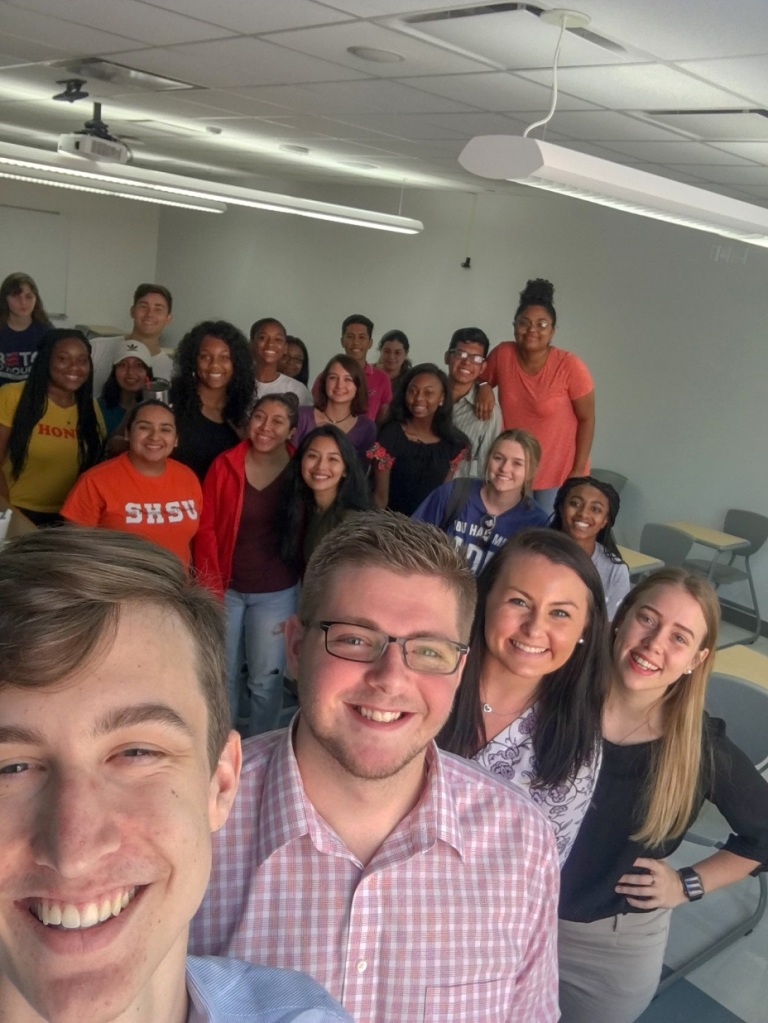 SHSU, First-Year Experience, Pre-Law Cohort, LEAP Center, LEAP Ambassadors