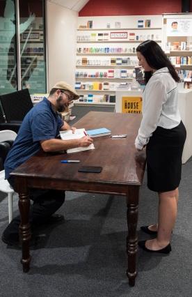 SHSU, LEAP Center, Center for Law Engagement And Politics , Brazos Bookstore, Cyrus Farivar, Habeas Data