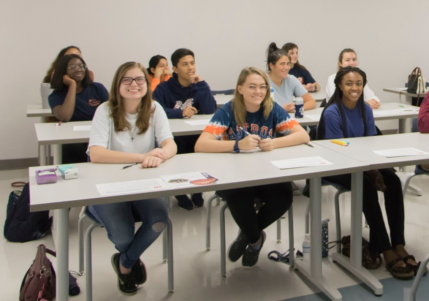 SHSU, LEAP Center, LEAP Ambassadors, Law Engagement And Politics, Mock LSAT, Princeton Review