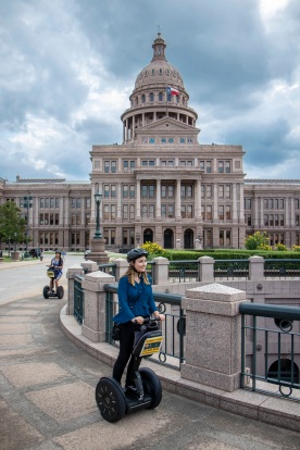 SHSU, Sam Houston State University, LEAP Center, LEAP Ambassadors, Center for Law Engagement And Politics, Austin Texas, ATX, Segway Tours
