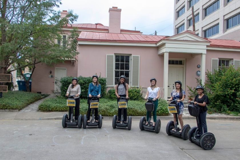 SHSU, Sam Houston State University, LEAP Center, LEAP Ambassadors, Center for Law Engagement And Politics, Austin Texas, ATX, Segway Tours, Texas Main Street