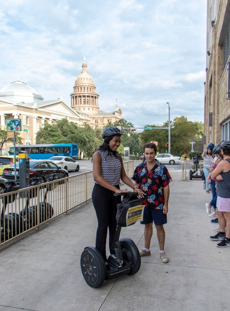 SHSU, Sam Houston State University, LEAP Center, LEAP Ambassadors, Center for Law Engagement And Politics, Austin Texas, ATX, Segway Tours