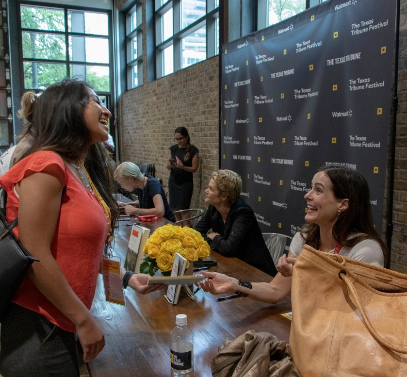 SHSU, LEAP Center, Law Engagement And Center, Texas Tribune Festival, Bethany McLean