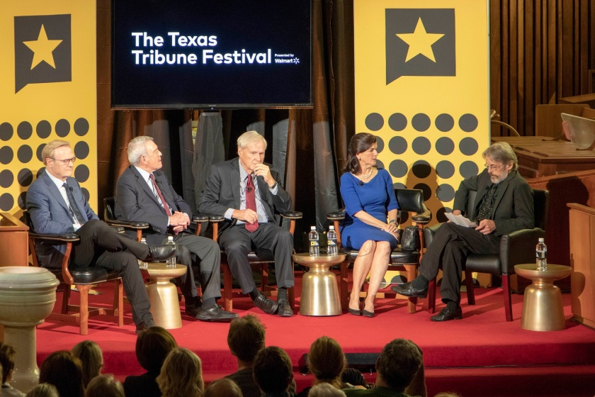 SHSU, LEAP Center, Law Engagement And Center, Texas Tribune Festival, Dan Rather, Chris Matthews, Luci Baines Johnson