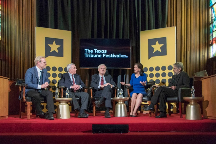 SHSU, LEAP Center, Law Engagement And Center, Texas Tribune Festival, Chris Matthews, Dan Rather, Luci Baines Johnson