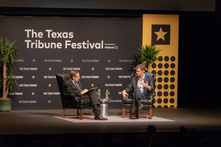 SHSU, LEAP Center, Law Engagement And Center, Texas Tribune Festival, Beto O'Rourke, Evan Smith