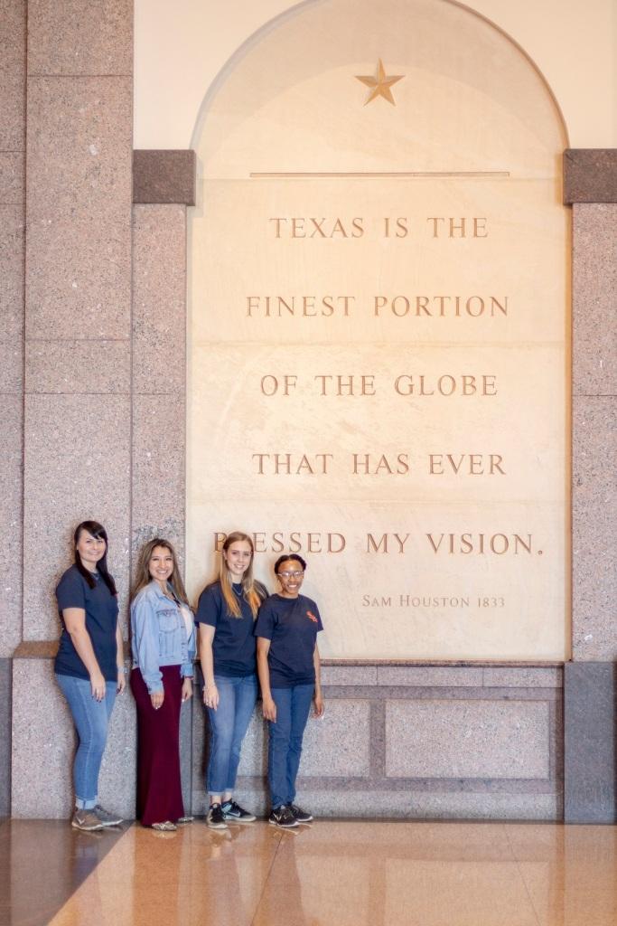 SHSU, LEAP Center, LEAP Ambassadors, Austin Texas, ATX, Bob Bullock Museum of Texas History