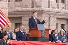 SHSU, LEAP Center, LEAP Ambassadors, ATX, Austin Texas, Capitol, Governor Inauguration, Greg Abbott, Dan Patrick, Chuck Norris