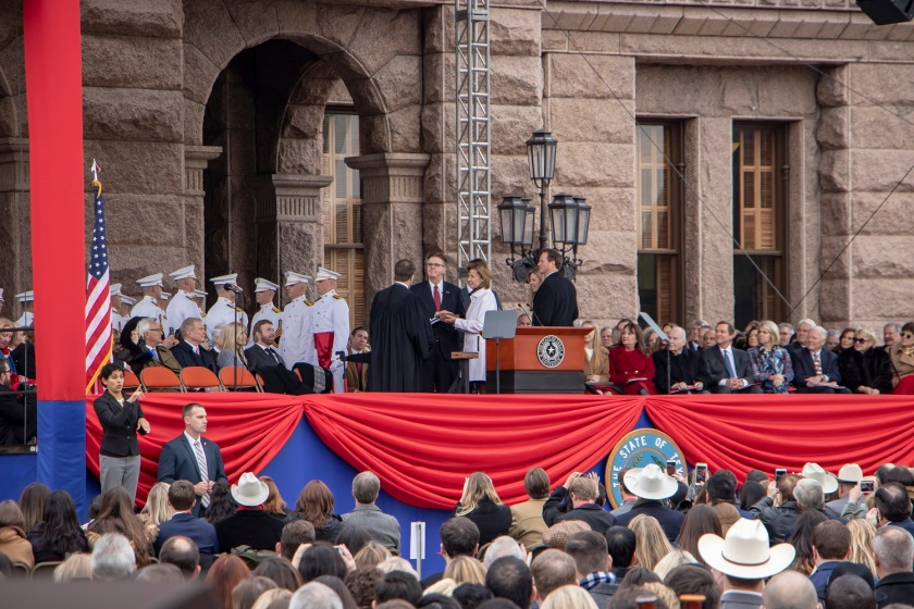 SHSU, LEAP Center, LEAP Ambassadors, ATX, Austin Texas, Capitol, Governor Inauguration, Greg Abbott, Dan Patrick