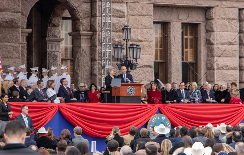 SHSU, LEAP Center, LEAP Ambassadors, ATX, Austin Texas, Capitol, Governor Inauguration, Greg Abbott, Dan Patrick, John Whitmire, Jane Nelson