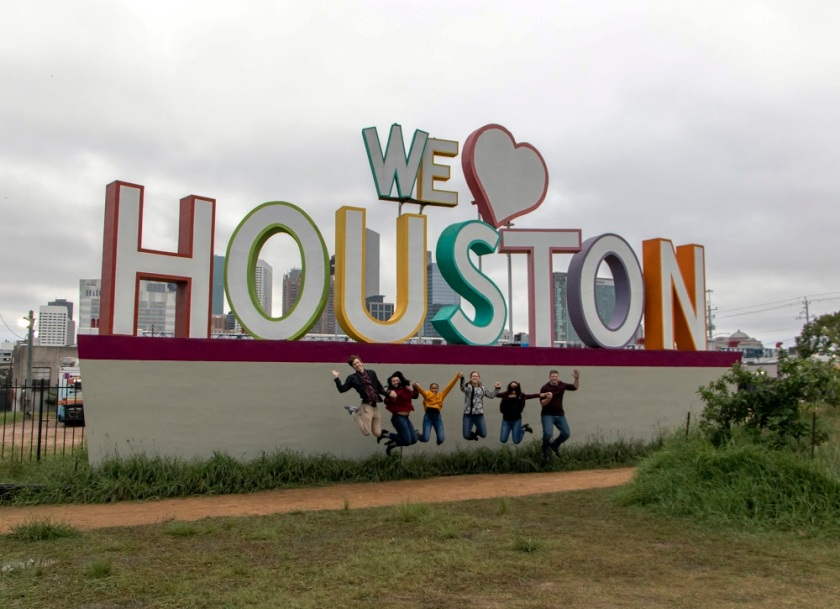 SHSU, LEAP Center, LEAP Ambassadors, Houston, We Heart Houston, David Adickes