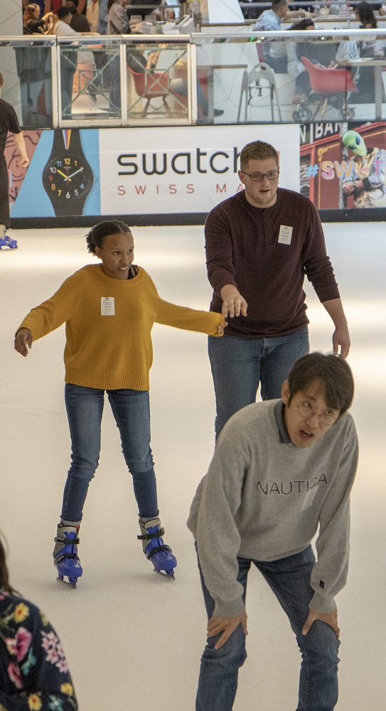 SHSU, LEAP Center, LEAP Ambassadors, Houston, Galleria Ice Rink